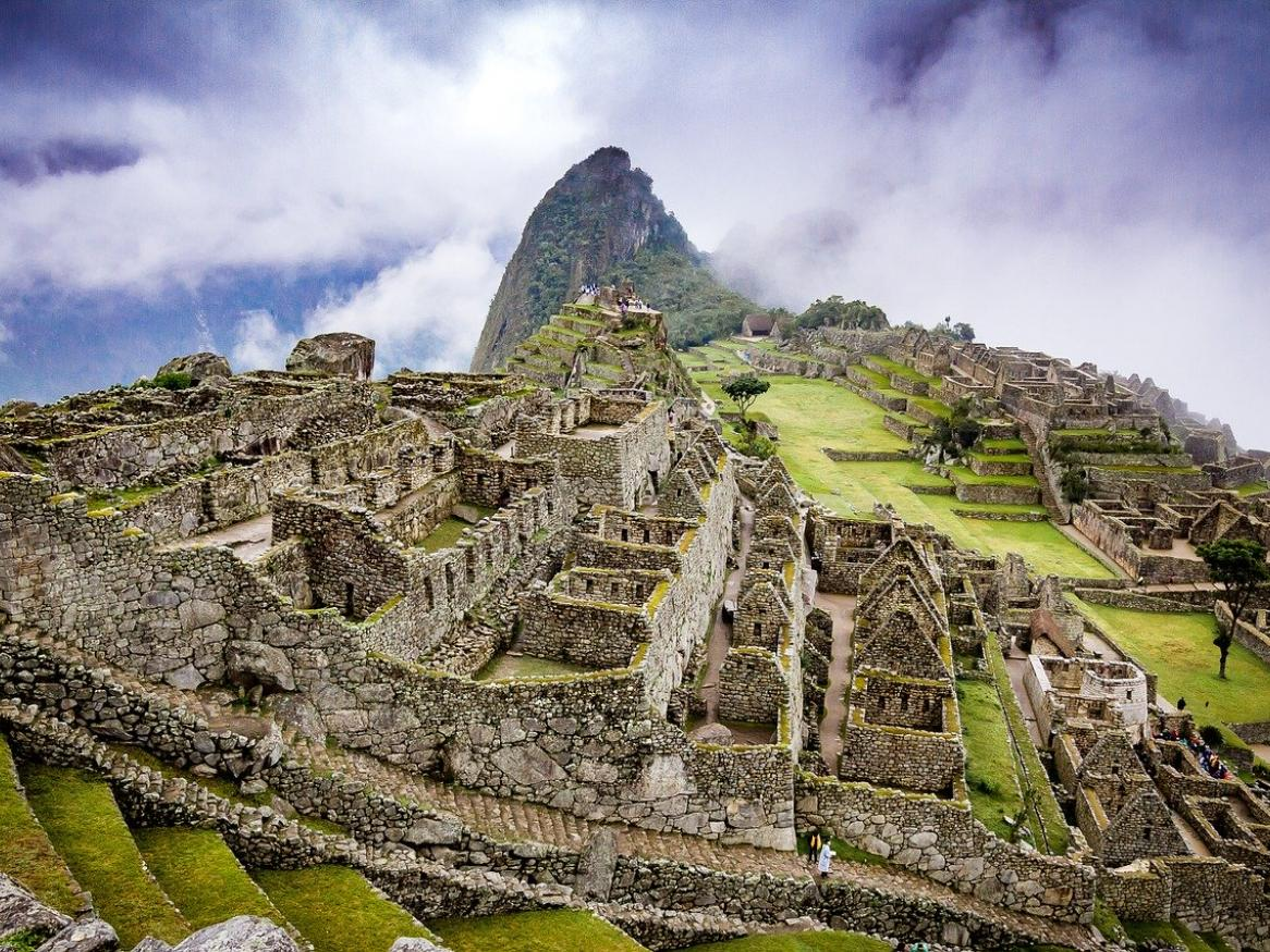 Landscape photo of Machu Picchu ruins