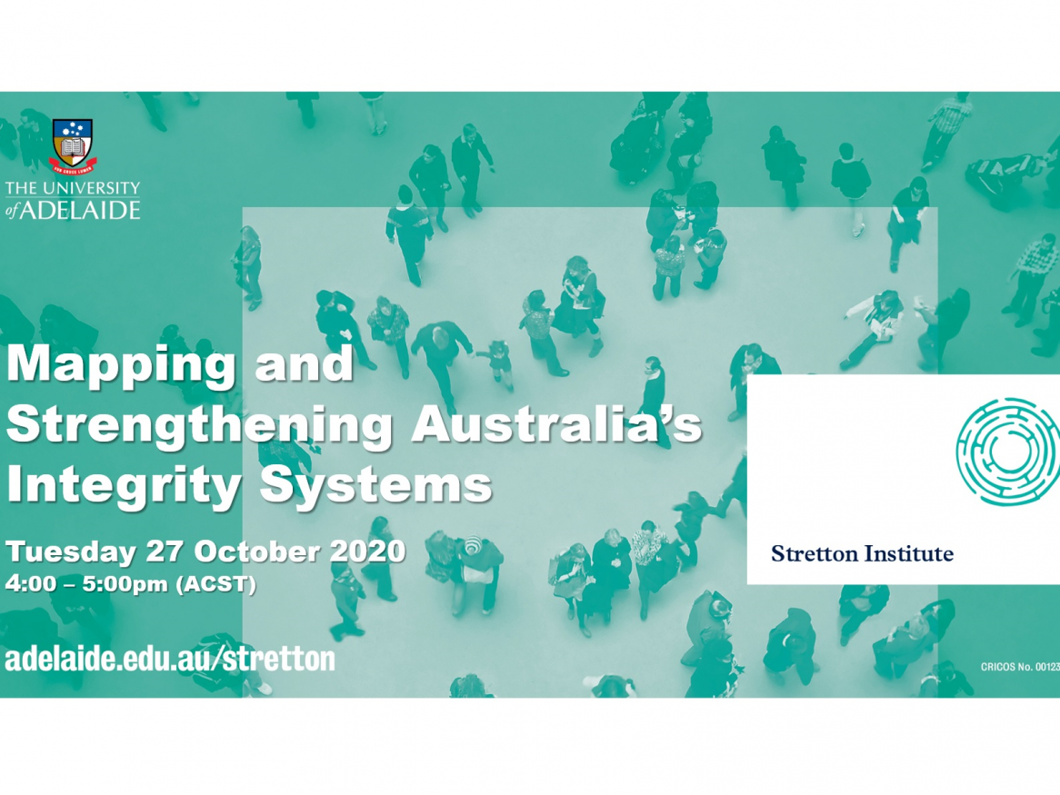 Mapping Australia's Integrity system webinar