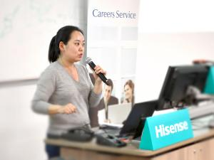 Hisense Group Chinese Overseas Students Recruiting Event