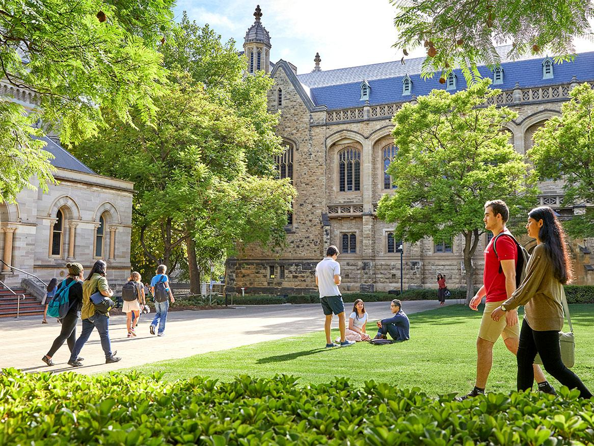 Why study at Adelaide