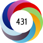 The Altmetric Attention Score and donut are designed to easily identify the attention a research output has received