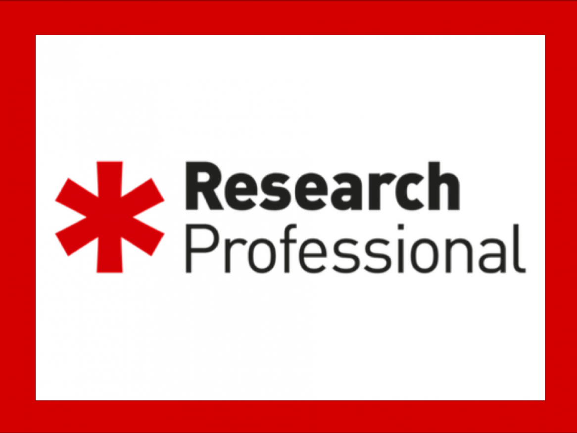 Research Professional is an online service providing access to research funding opportunities