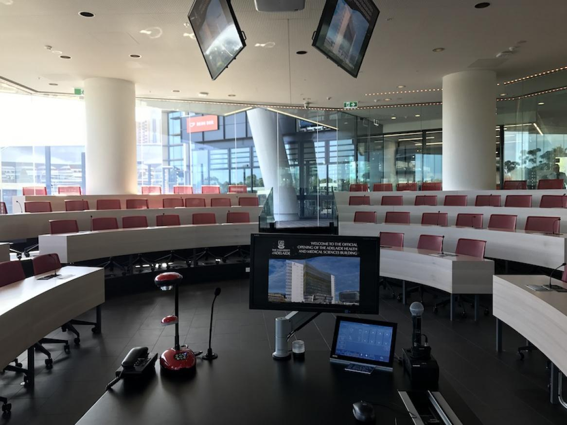 All about audio visual facilities provided and supported by ITDS