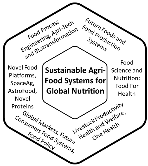 Sustainable agri-food systems for global nutrition